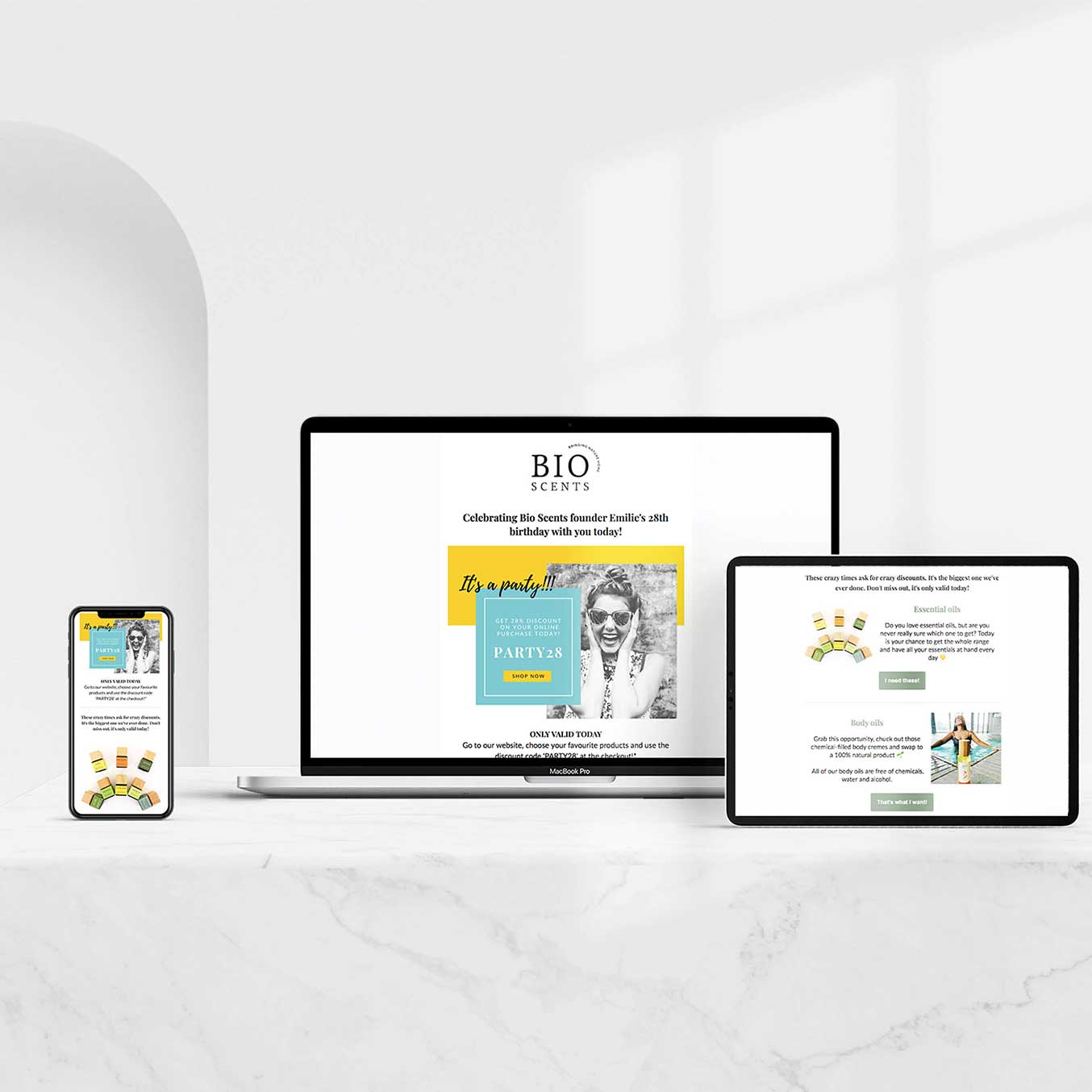 Email Marketing BioScents