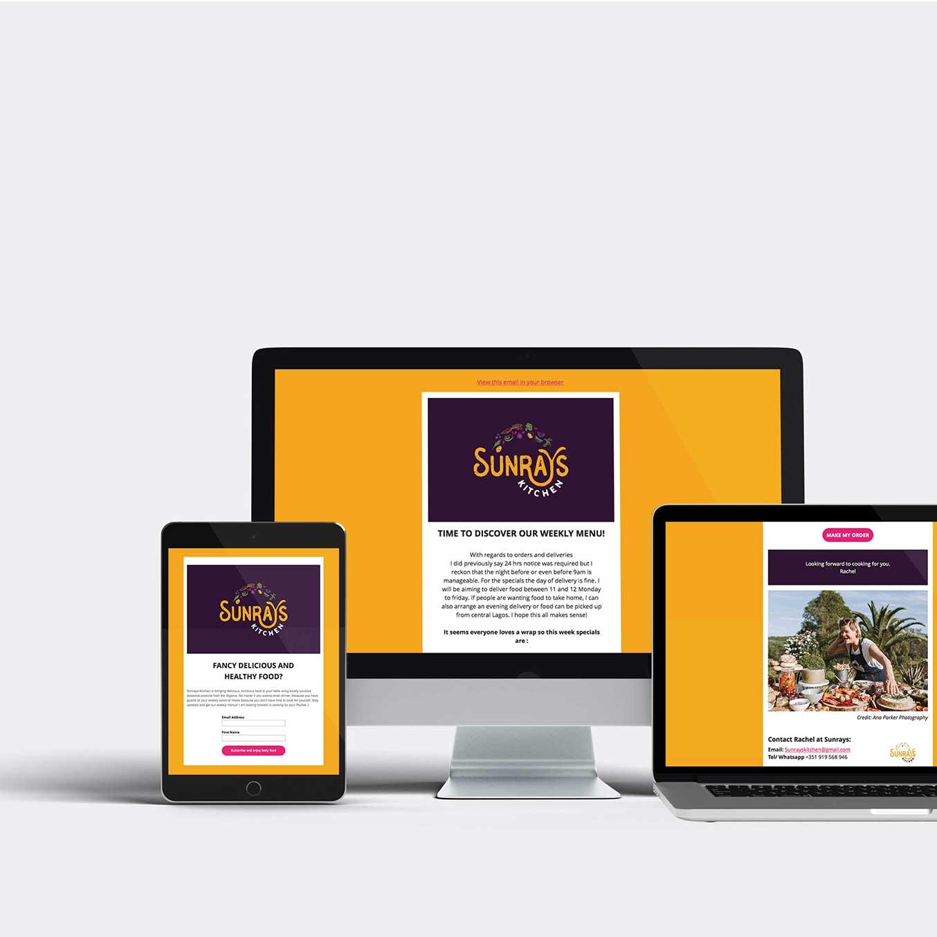 Email-Marketing Sunrays Kitchen