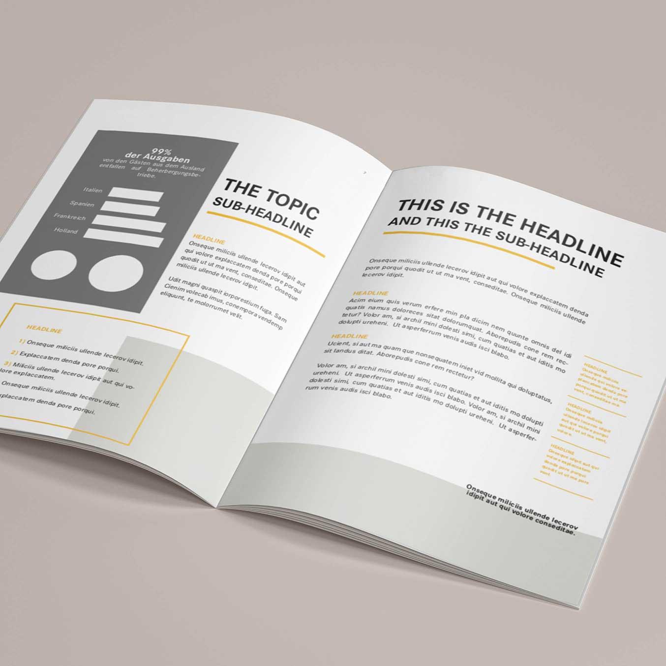 Editorial Design_Grafische Gestaltung eines Magazins